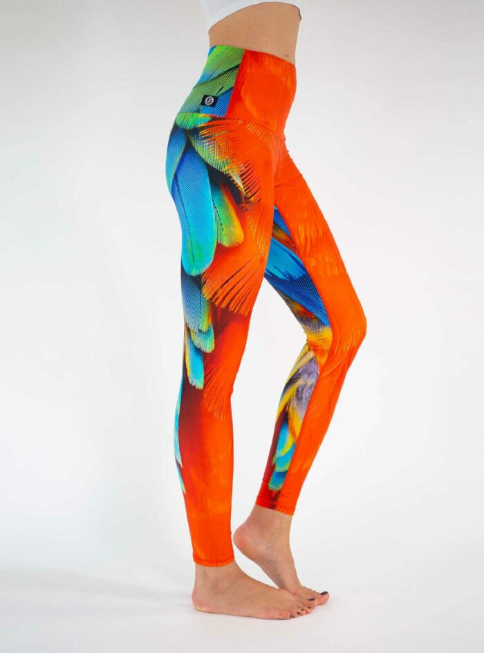 Parrot Yoga Leggings