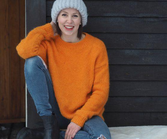 Inkeri Glova, die Gründerin von Arctic Flamingo.