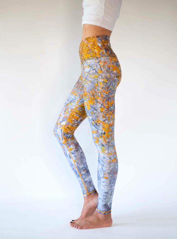 Yellow-Gray-Snow-Leggings-Pants-Arctic-Flamingo