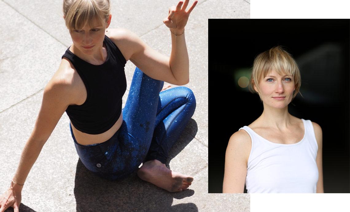 Yoga auf Französisch München Munich Veronika Hausberger