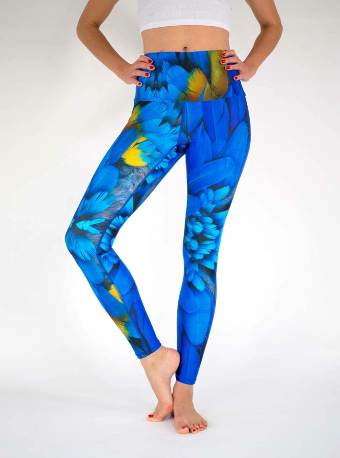 Blue-Bird-Yoga-Leggings-High-Waist-Econyl