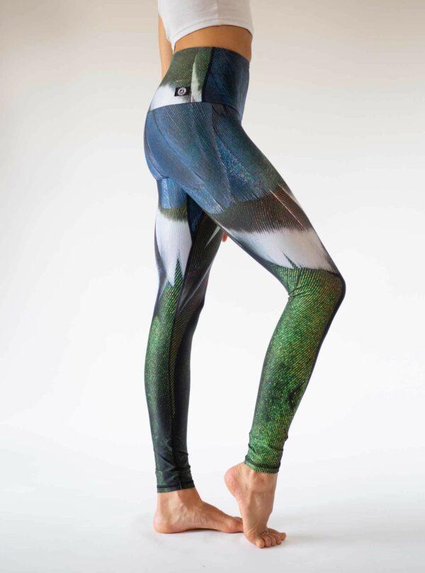Blaue-Nachhaltige-Yoga-Leggings-Deutschland-Arctic-Flamingo
