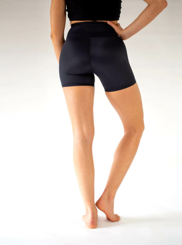 Kurze-Shorts-Blickdicht-Yoga-Hose-Arctic-Flamingo