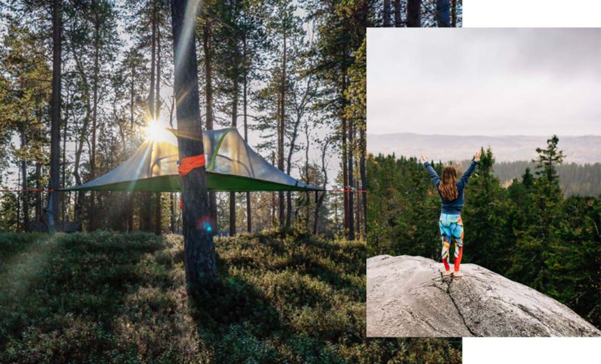 Tentsile-Yoga-Retreat-Accommodation-Treetent-Lapland