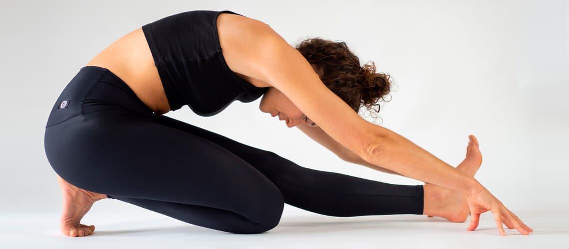 Nachhaltige Schwarze Yoga Legging