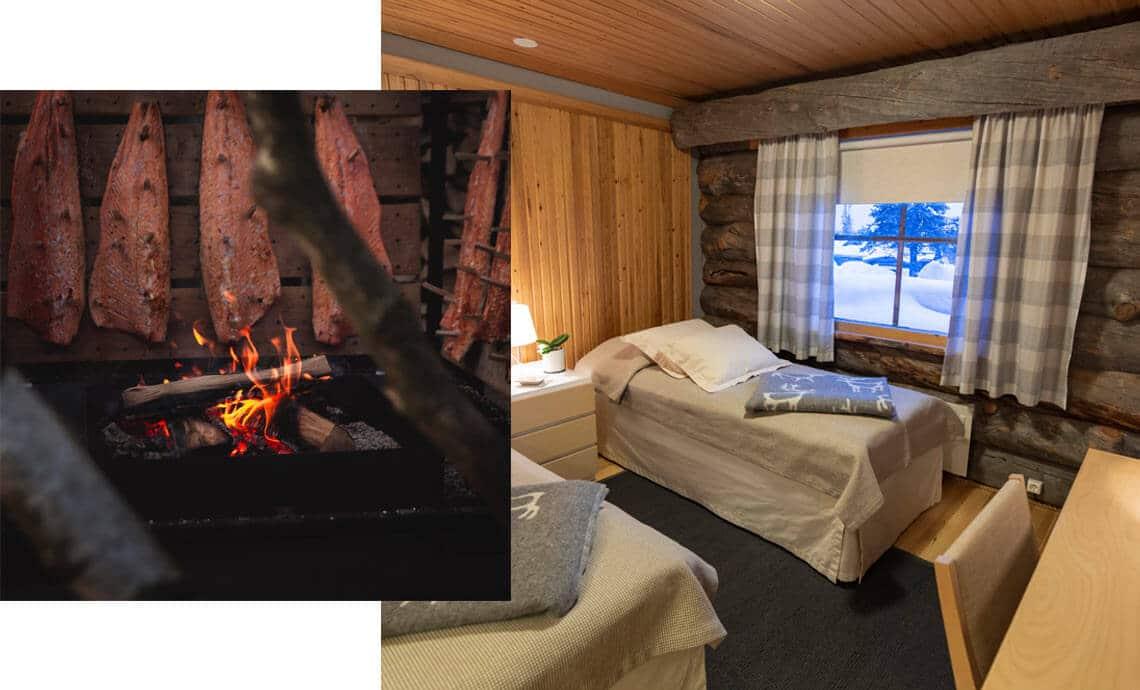 Accommodation-Yoga-Retreat-Lapland-Ivalo-Yoga-Saariselkä