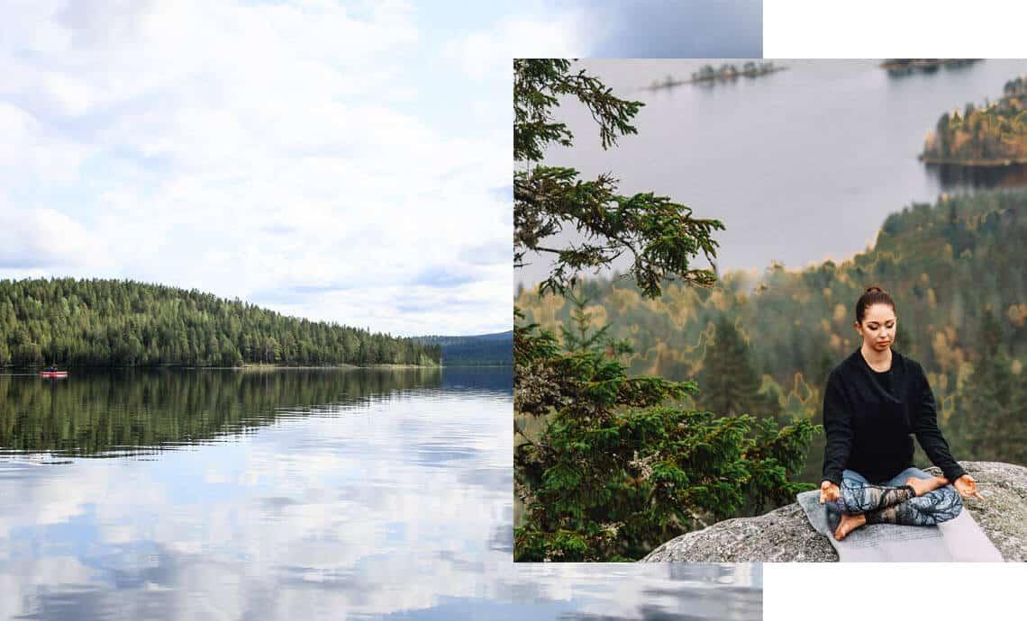 Yoga Retreat Lappland Finnland Sommer 2020 Saariselkä