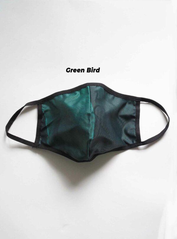 Green-Bird-Mund-Nase-Schutz