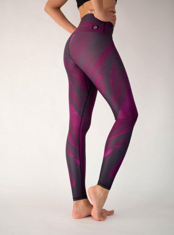 Rote-Yoga-Leggings-Arctic-Flamingo